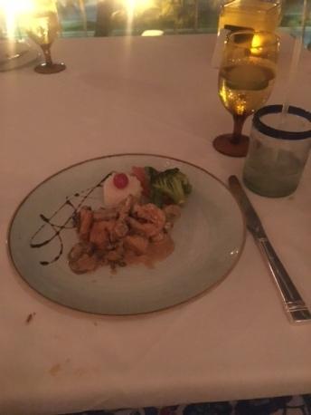 hyatt zilara cancun dinner luxury getaway