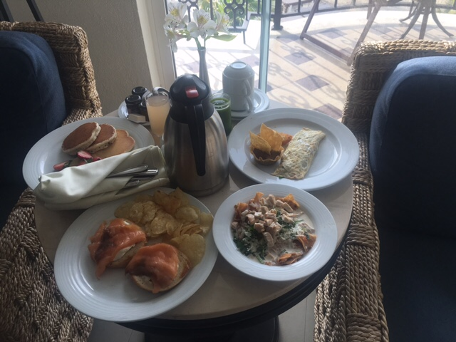 hyatt zilara cancun breakfast