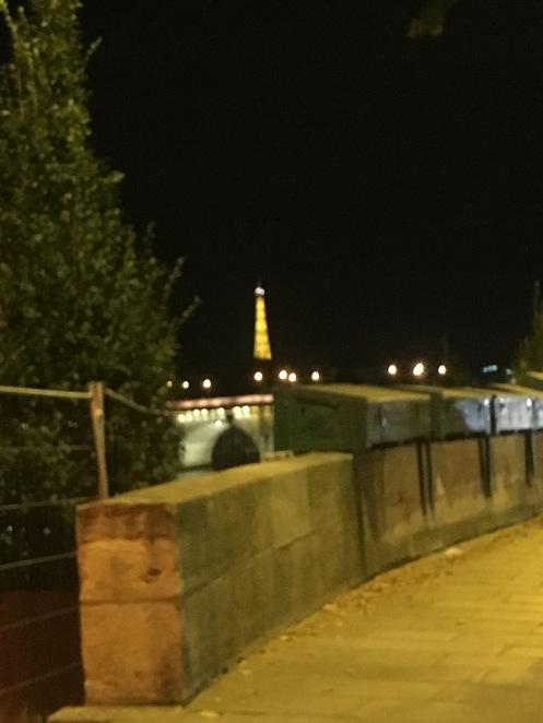Eiffel Tower blur 2016