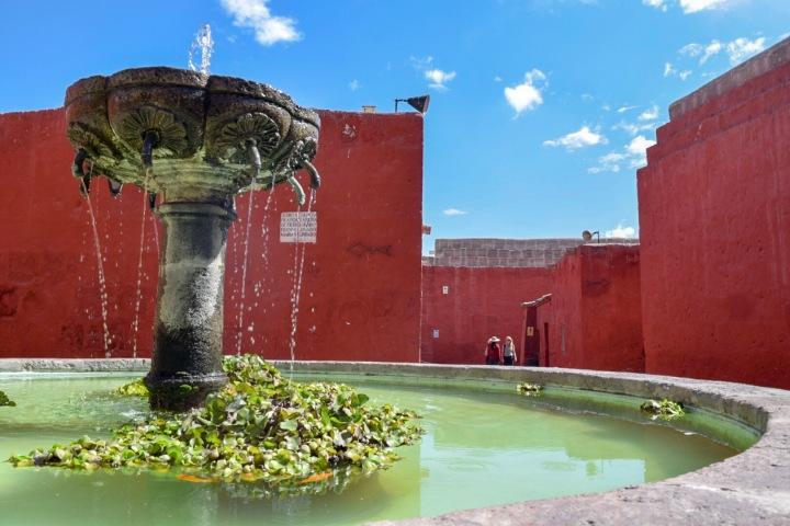 Peru Monastery Arequipa
